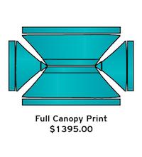 Full Canopy Print