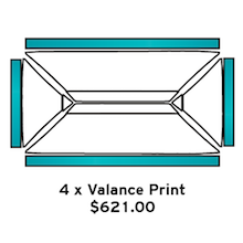 4x Valance