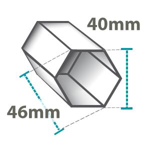 Pro Lite 40mm Hex