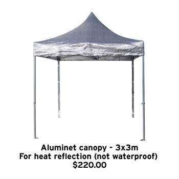 Aluminet Canopy