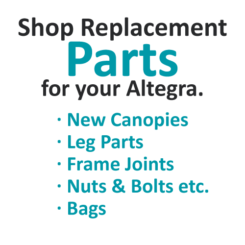 Altegra gazebo spare parts - find replacement parts for your Altegra gazebo or