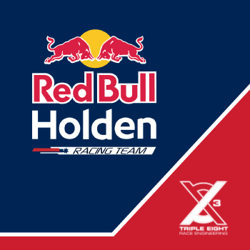 Triple Eight Race Engineering and Red Bull Holden Racing Team logo
