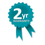 Altegra Genuine 2 year Manufacturer's warranty icon - for our Premium Steel 3x4.5m pop up gazebo and affordable 3x3m gazebo.