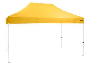 Altegra Premium Steel 3x4.5m pop up gazebo with premium UPF50+ canopy - affordable quality 3x4.5m gazebos - yellow