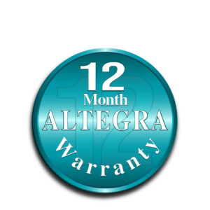 Altegra 12-Month Manufacturer's Warranty icon - A 12-month warranty for Australia's finest gazebo canopy, marquee canopy, gazebo and marquee walls, banners and tablecloths.