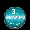 Altegra Premium Steel 3-year manufacturer's frame warranty.