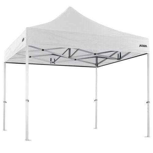 Altegra Heavy Duty 3x3m gazebo with white UPF50+ canopy