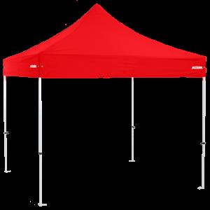 Altegra Premium Steel 3x3m gazebo with red canopy - our affordable 3x3m gazebo.