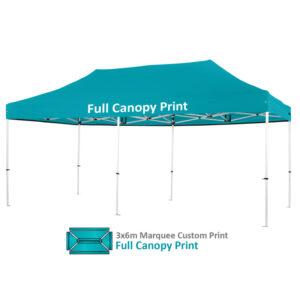 Altegra Pro Lite 3x6m Marquee Custom Printed canopy image - Full custom canopy printing