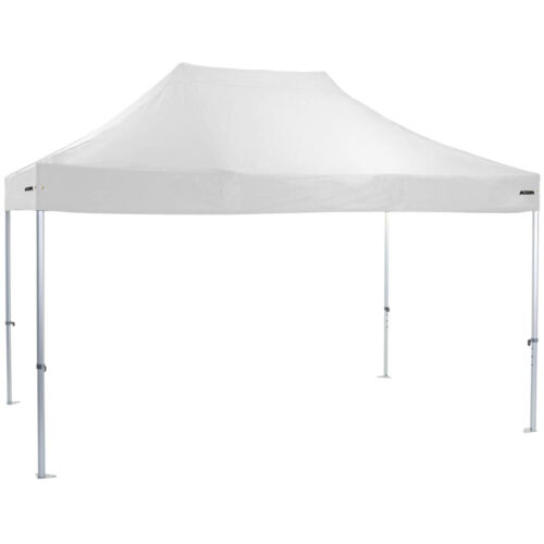 Altegra Heavy Duty 3x4.5m gazebo with White UPF50+ canopy - the dependable portable shade shelter for all Australian conditions.