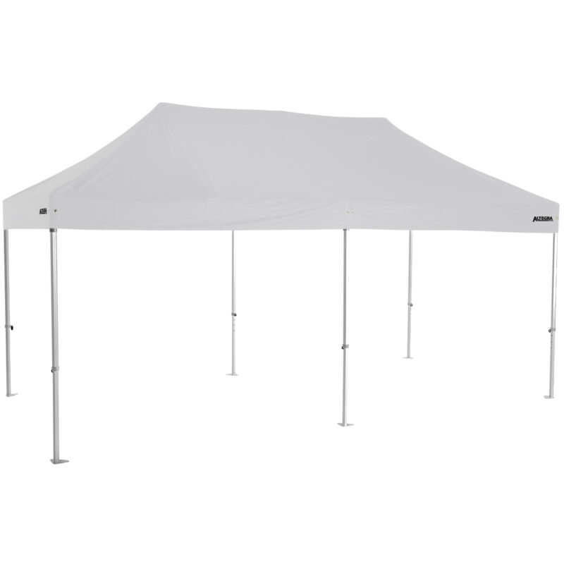 Altegra Heavy Duty 3x6m folding marquee with white UPF50+ canopy - Australia's premium folding aluminium event marquees constructed to deliver dependability and comprehensive protection.