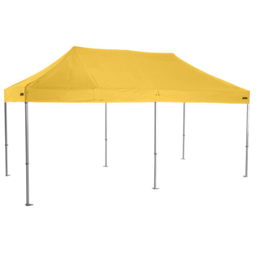 Altegra Heavy Duty 3x6m Marquee in Yellow - the event marquee for schools, community groups, marquee hire and rental companies with Australian Standard computations.