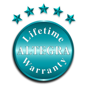 Altegra Lifetime Manufacturer's Warranty icon - Lifetime gazebo and marquee warranty for Australia's finest gazebos and marquees.