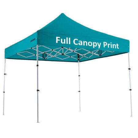 "Altegra Premium Steel ""Compact"" 3x3m Gazebo with custom canopy printing - Full Canopy print"