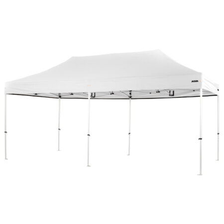 Altegra Pro Lite 3x6m marquee with white UPF50+ canopy - a lighter 3x6m event marquee.