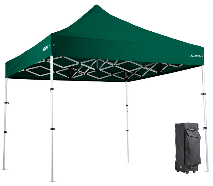 Altegra Pro Lite compact camping gazebo - perhaps not the best camping gazebo, the ultimate camping gazebo! Strong, lightweight, and packs down to only 93cm.