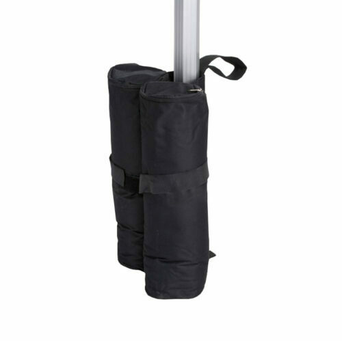 Altegra Sandbag Leg Weight - the packable gazebo leg weight that can weigh up to 12kg when filled with sand. Gazebo leg weight that packs flat, has 2x heavy-duty velcro enclosures, and can also be pegged to the ground.