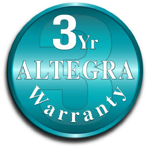 Altegra 3-Year Manufacturer's Warranty icon - A 3-year gazebo and marquee warranty for Australia's finest affordable gazebos and marquees.