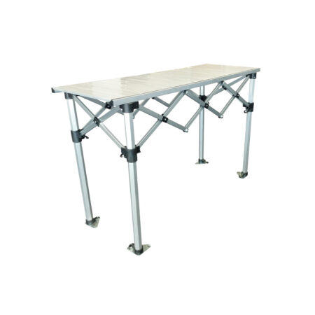 Altegra Aluminium 1.5m Folding Table - the packable, hugely robust and extremely versatile folding table by Altegra in our small 1.5m foldable table size. Heatproof, easy to clean, packs smaller than the rest, and looks great.