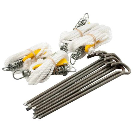Altegra Heavy Duty Pegs and Spring-loaded Guy Ropes