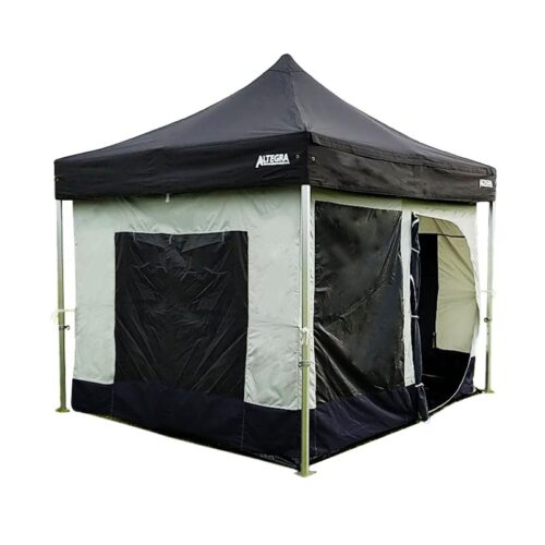 Altegra 3x3m gazebo inner tent - an enclosed internal haven that fits to the interior of most gazebos and marquees. An easy way to add walls, a floor, and a ceiling to your existing pop up gazebo and folding marquee.