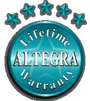 Altegra Lifetime Warranty icon - leading marquee manufacturer's warranties